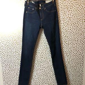 RAG AND BONE blue skinny jeans Sz 28